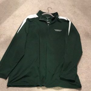 Oregon Duck 3/4 zip sweatshirt
